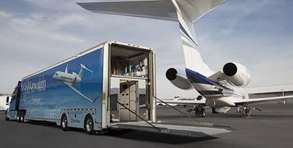 Equipes de Apoio em Solo e Aéreo da Gulfstream